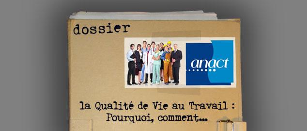 Novéquilibres : La QVT sur le site de l'ANACT