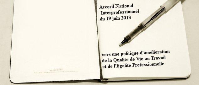 Novéquilibres : L'ANI sur la QVT et l'Egalité Professionnelle