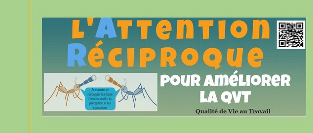 Novéquilibres : L'Attention Réciproque en infographie - laqvt.fr QVT Qualité de Vie au Travail