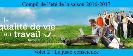Novéquilibres : Notre compilation de l'été 2017 ... Volet 2 : La juste conscience
