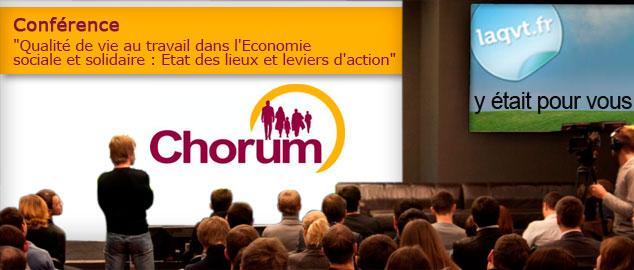 Novéquilibres : Retour sur la conférence CHORUM : QVT et ESS