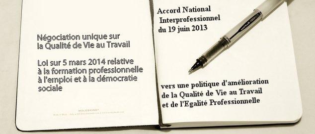 Novéquilibres : La QVT inscrite dans la loi du 5 mars 2014 sur la formation professionnelle