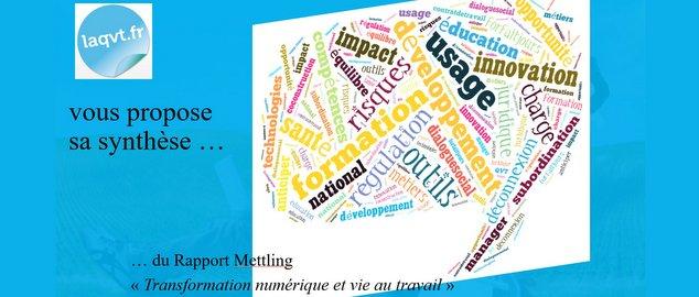 Novéquilibres :  Synthèse du rapport Mettling (Transformation numérique et QVT)