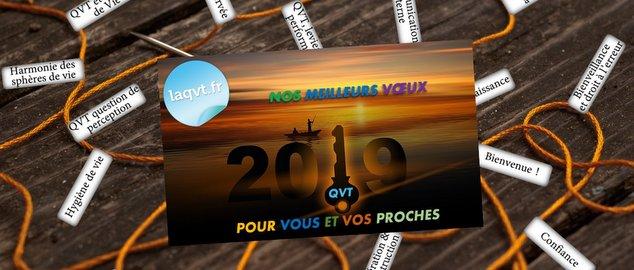 Novéquilibres : Des vœux 2019 en tirant les fils de la QVT ! - laqvt.fr QVT Qualité de Vie au Travail