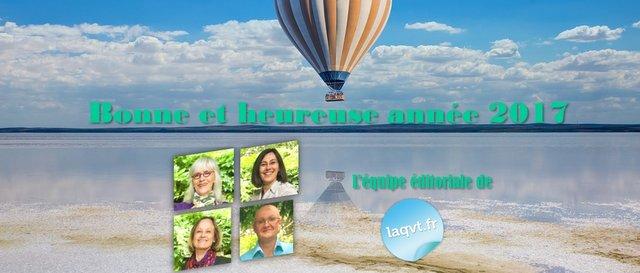 Novéquilibres : Les vœux de l'équipe éditorial de laqvt.fr pour 2017