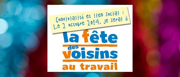 Novéquilibres : Fêtons les voisins au travail le 2 octobre 2014 !